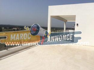 Un sublime et rare penthouse luxueux à la location au cœur de Souissi Rabat
