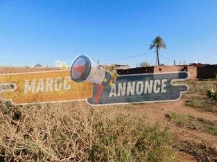 Terrain 9900 m² à vendre km 15 route de Fes Marrakech