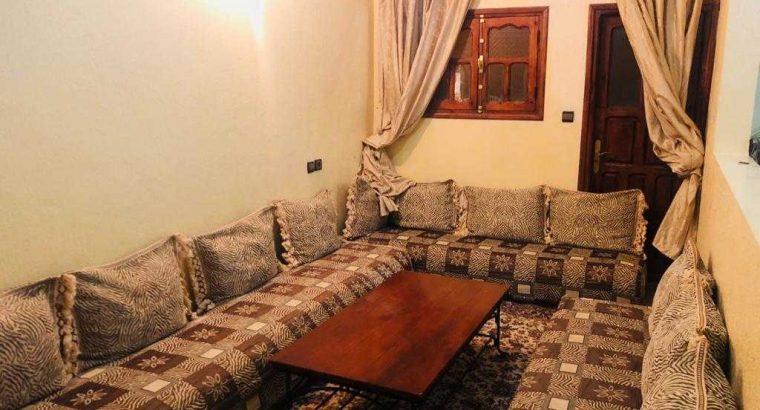 appart 1 etage meublee  a louer