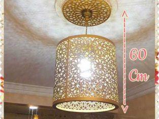 lustre cylindrique orientale