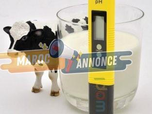 Meilleure lecture précise et stable du ph du lait