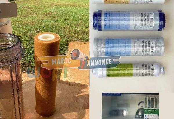 Changement de filtre pour osmoseur inverse