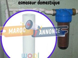 Filtre PP 10 pouces pour osmoseur domestique