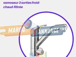 Le Robinet Mitigeur D'osmoseur 3 Voies