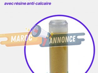 La Cartouche De Résine Anti Calcaire