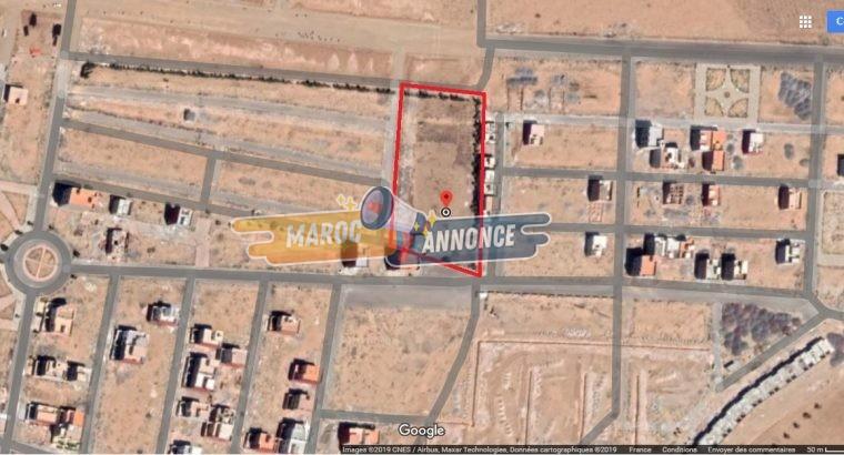 Terrain titré de 4680m à Oujda-Lazaret/Al Fath