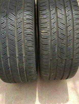 deux pneus