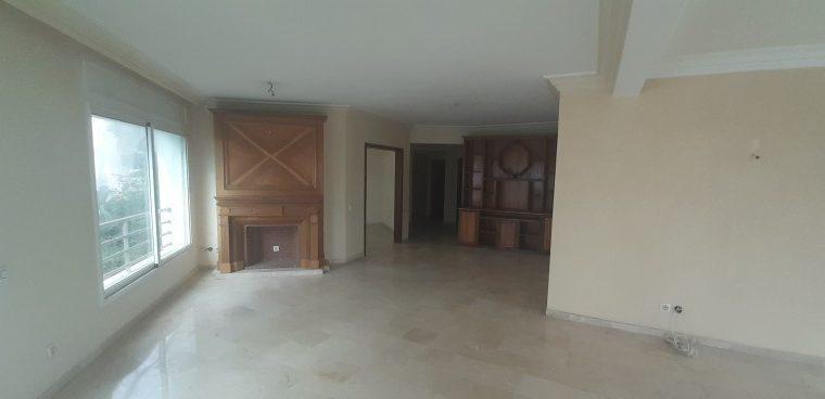Appartement 220m2 haut agdal prés lycée descartes