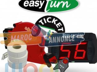 le système de gestion de file d'attente EASY TURN