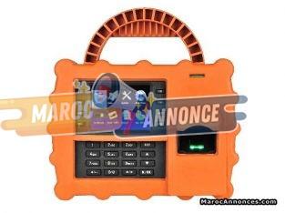 Pointeuse biométrique à empreinte digitale et badges S922